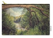 The River Severn At Buildwas Carry-all Pouch