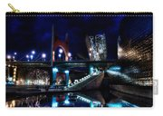 The Riverside Pool Of The Guggenheim Museum In Bilbao Spain Carry-all Pouch