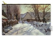 The Road Home Carry-all Pouch by Peder Monsted
