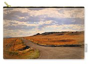The Road Less Traveled Carry-all Pouch by Marty Koch