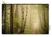 The Road Through The Woods Carry-all Pouch