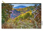 The Road To Cataloochee On A Frosty Fall Morning Carry-all Pouch