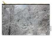 The Road To Winter Wonderland Carry-all Pouch