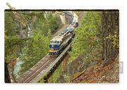 The Rocky Mountaineer Above The Cheakamus River Carry-all Pouch