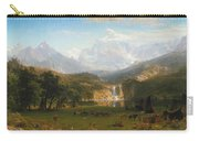 The Rocky Mountains Landers Peak Carry-all Pouch
