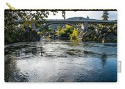 The Rogue River At Gold Hill Bridge Carry-all Pouch