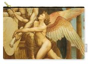 The Roll Of Fate Carry-all Pouch by Walter Crane