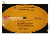 The Rolling Stones Sticky Fingers Side 1 Carry-all Pouch