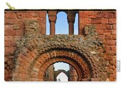 The Romanesque Doorway In The Monastery Carry-all Pouch