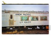 The Roundhouse Evanston Wyoming Dining Car - 5 Carry-all Pouch