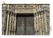 The Royal Portal At Chartres Carry-all Pouch