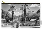 The Sandpiper Pool Bw Palm Desert Carry-all Pouch by William Dey