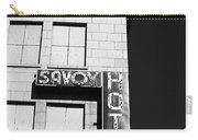 The Savoy Hotel Carry-all Pouch