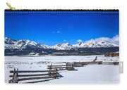 The Sawtooth Mountains Carry-all Pouch