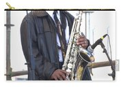 The Saxophone Player Carry-all Pouch