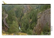 The Scenic Cheakamus River Gorge Carry-all Pouch