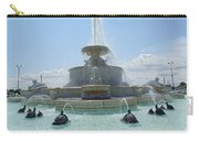 The Scott Fountain On Belle Isle Carry-all Pouch