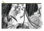 The Scream - Picasso Study Carry-all Pouch