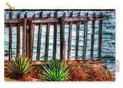 The Sea Fence Siesta Key Fla. Carry-all Pouch