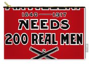 The Second Artillery Needs 200 Real Men Carry-all Pouch by War Is Hell Store