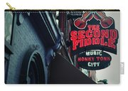 The Second Fiddle Carry-all Pouch