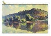 The Seine At Port-villez, 1883 Carry-all Pouch