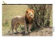 King Of The Savannah Carry-all Pouch