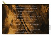 The Serenity Prayer Carry-all Pouch