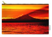 The Shadow Of Rainier Carry-all Pouch