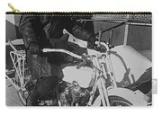 The Shadow Of The Eagle Homage 1932 Jack Wilson Stuntman Globe Arizona 1969 Carry-all Pouch