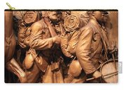 Saint Gaudens -- The Shaw Memorial's Right Side Carry-all Pouch