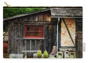 The Shed At Monches Farm Carry-all Pouch by Mary Machare