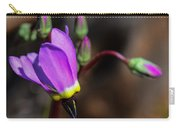 The Shooting Star Wildflower Carry-all Pouch