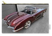 The Show Winner 1958 Corvette Carry-all Pouch