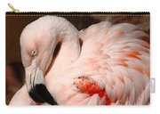 The Shy Flamingo Carry-all Pouch