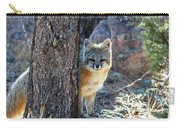 The Shy Fox Carry-all Pouch