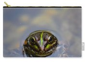 The Shy Frog Carry-all Pouch
