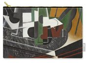 The Sideboard, 1917 Oil On Plywood Carry-all Pouch