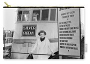 The Silver Streak Train Carry-all Pouch