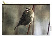 The Singing Sparrow Carry-all Pouch