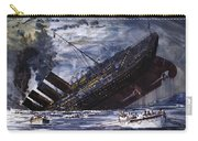 The Sinking Of The Titanic Carry-all Pouch
