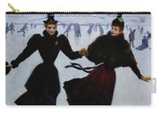 The Skaters Carry-all Pouch by Jean Beraud