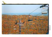 The Skiing Fields In Autumn Carry-all Pouch