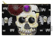 The Skull Is In Love With Cupidos Carry-all Pouch