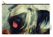The Skye  Terrier Tilt   Carry-all Pouch