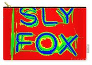 The Sly Fox Carry-all Pouch
