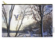 The  Birds Of Winter Carry-all Pouch