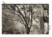 The Snow Tree - Sepia Antique Look Carry-all Pouch