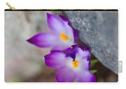 The Softness Of Crocus - Flowers - Spring Carry-all Pouch