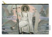 The Son Of God   The Word Of God Carry-all Pouch by Victor Mikhailovich Vasnetsov